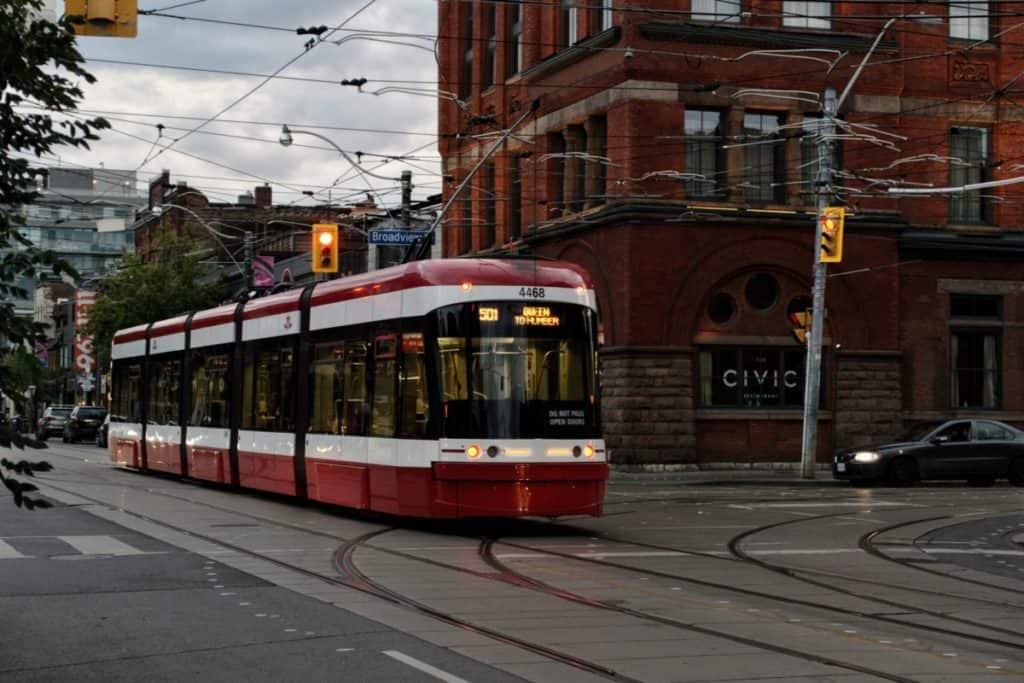 Street car Toronto
