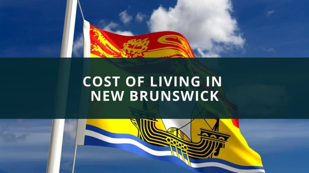 Cost of living in New Brunswick
