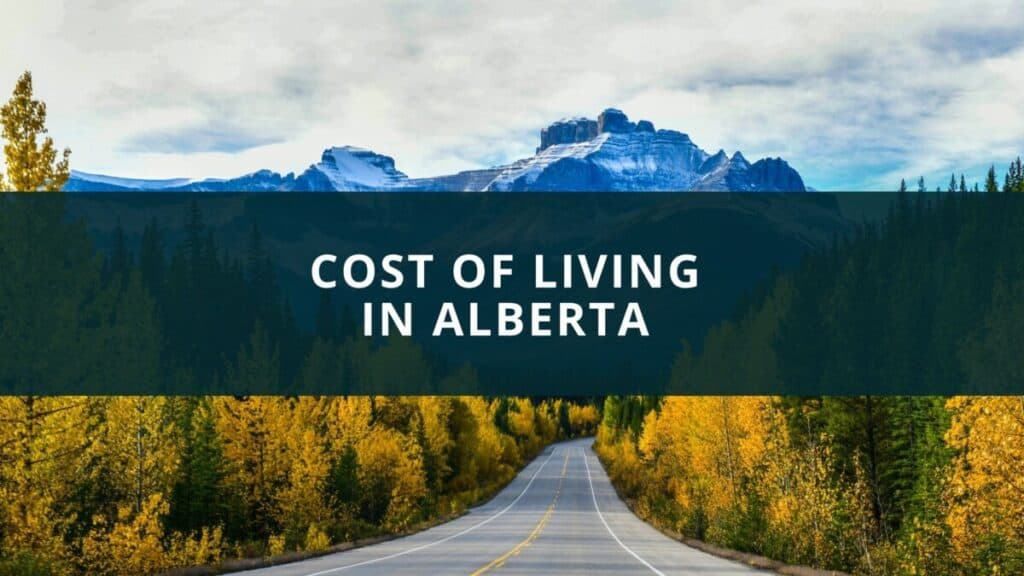 Cost of living in Alberta